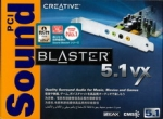 Drivers Creative Sound Blaster 5.1 VX pilote carte son sound card audio