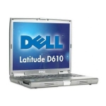 Drivers Dell Latitude D610 laptop notebook