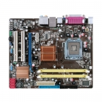 Asus P5KPL-AM carte mère motherboard socket Intel 775 bios pilotes driver audio carte son reseau lan Ethernet