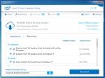 Logiciel Intel Driver Update Utility software de mises à jour des périphérique chipset carte graphique carte son intégré