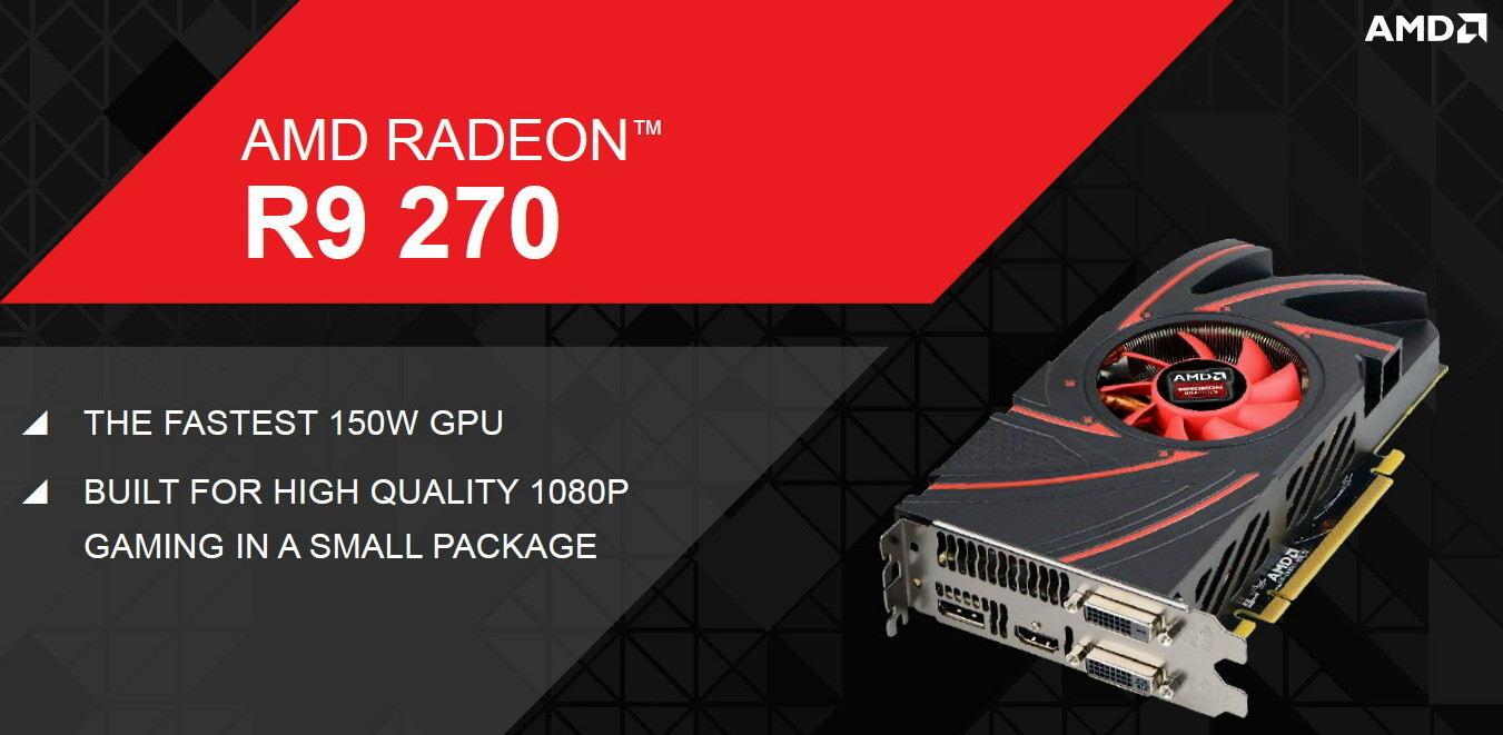 Test performance AMD Radeon R9 270